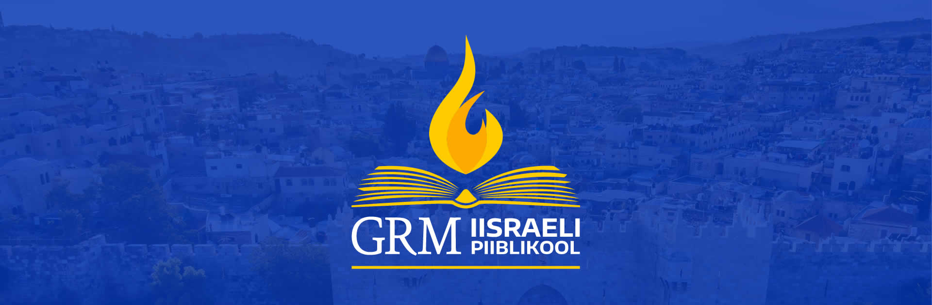 GRM Bible School banner